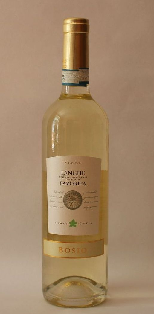 Favorita DOC Langhe 2016 - Bosio Family Estates